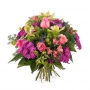 Ramo con rosas y orquideas - Flores a Domicilio