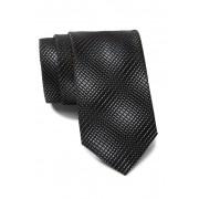 BOSS Woven Pattern Tie BLACK