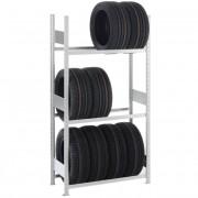 Bandenstelling verzinkt staal - 3 of 4 verdiepingen (100 cm breed)