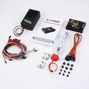Pandaria🐼 Módulo de Sonido de Coche RC Sonidos/Sistema Simulado de Luz para Graduador Escalada Coche SUV Control Remoto Vehículo Camión DIY Parte