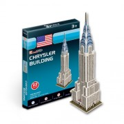 Cubicfun 3D Puzzle - Chrysler Building, Multi Color