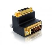 DeLock Adapter DVI 29pin male-female right angled 65173