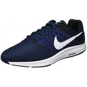Nike Men's Nike Downshifter 7 Running Shoe Midnight Navy/White/Dark Obsidian/Black Size 8 M US