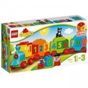 Конструктор ЛЕГО ДУПЛО - Влакът на числата - LEGO DUPLO, 10847