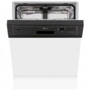 Neff S41E50S1GB Built In Semi Integrated Dishwasher - Black