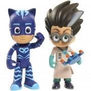 Figura Articulada Catboy and Romeo Pjmasks