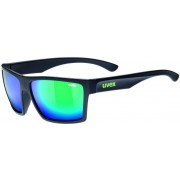 UVEX LGL 29 Black Mat-Mirror Green