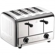 Dualit Grille-Pain Inox Dualit 4 Fentes 2700W 120 Tranches/Heure