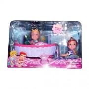Disney Princess My First Little Princess Twinsies Sleeping Set ~ Ariel and Cinderella