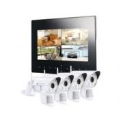 VisorTech Système de surveillance numérique Visortech DSC-720 - 4 caméras