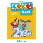 Boosterbox Maxi Loco - Tafels 1-10 (7-10 jaar)