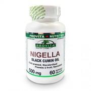 Nigella Ulei de Chimen Negru Provita Nutrition 500 mg 60 capsule