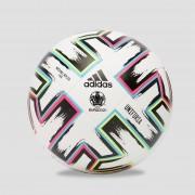 adidas Uefa euro 2020 uniforia wedstrijd voetbal wit/groen Kinderen - wit/groen - Size: ONESIZE