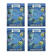"""Monsters University Reusable Glow in the Dark Sticker Book """"Monster Match"""" (4 PacK)"""