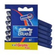 Gillette Blue II 6 ks holiaci strojček pre mužov