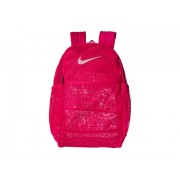 Nike Brasilia Mesh Backpack 90 Rush PinkRush PinkWhite