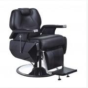 Scaun frizerie barber shop negru 2698A
