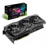 Видео карта Nvidia GeForce RTX 2080, 8GB, Asus ROG Strix Gaming, PCI-E 3.0, GDDR6, 256 bit, 2x Display Port, 2x HDMI, 1x USB Type C, Aura Sync RGB подсветка