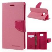 Mercury Pouzdro / kryt pro Samsung Galaxy S7 - Mercury, Fancy Diary Pink/Hotpink
