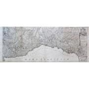 ART La Liguria o Stato della Repubblica di Genova con altri Stati adiacenti. Dedicata all'Impareggiabile virtù e merito dell'Em.mo e Rev.mo Prencipe il S