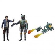 Star Wars Han Solo and Boba Fett (Pack of 2)