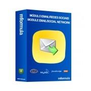Módulo Convide Amigos(as) de seus Contatos de Redes Sociais ou Provedores de E-mail