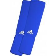 Adidas Elastische Scheenbeschermer - Blauw - L
