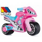 Moto Correpasillos Premium Molto Rosa