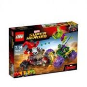 Lego 76078 Hulk mot Red Hulk