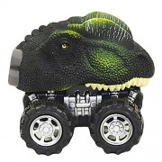 Fancyku Pull Back Dinosaur Cars Dino Cars Toys with Big Tire Wheel for 3-14 Year Old Boys Girls Creative Gifts for Kids (Style 1)