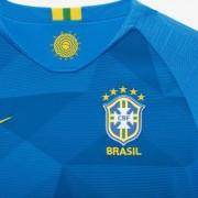 Футбольное джерси для школьников 2018 Brasil CBF Stadium Away