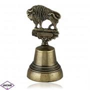 Żubr - metalowy dzwonek