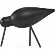 Figurka dekoracyjna Shorebird M cały czarny