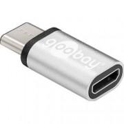 Goobay Adattatore USB-C™ Maschio a USB Micro-B Femmina Silver