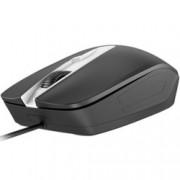 Мишка GENIUS DX-180, оптична 1000dpi, USB, черна, удобен и ергономичен дизайн