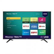 Hisense 43r6000fm Televisor Roku TV Integrado y Led, 4K, 43 Pulgadas