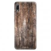 Odolné silikonové pouzdro iSaprio - Wood 11 - Huawei Y6 2019