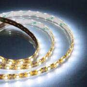 Banda LED-uri exterior SMD 5050, 60 led/m, alb rece