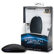 Manhattan Stealth Touch Wireless Mouse -2.4Ghz