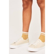 ''Gina Tricot'' ''Nella platform sneakers'' ''Nude (1050)'' 38