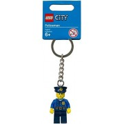 LEGO City: Policeman in Blue Outfit Keychain (850933)