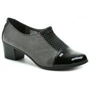 MintakaCZ Mintaka 52987 černo šedé dámské lodičky EUR 36