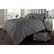 Imperial Beddings MCR Limited £12.99 instead of £31 (from Imperial Beddings) for a single Eliza pin tuck duvet cover set, £18.99 for double set, £22.99 for a king set or £26.99 for a super king set! - save 58%