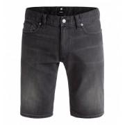 DC - šortky WASHED STRAIGHT medium grey Velikost: 38