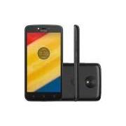 Smartphone Motorola Moto C Plus Dual Chip Android 7.0 Nougat Tela 5 Quad-Core 1.3GHz 8GB 4G Câmera 8MP - Preto
