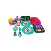 Disney princess Ariel Kitchen set for kids of age 3 to 8 years in PVC packing for easy storage/Premium quality/certified as EN 71 European standard safe for child/ indoor toys for kids/ development toys/Multi colour/ Includes cup/plates/Frying pan/Juice b