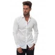 Giorgio Armani Camicia classica da uomo Bianco Cotone Uomo