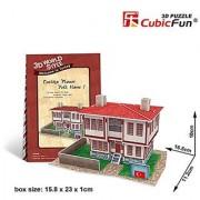 CubicFun 3D Puzzle World Style-Series Turkiye Flavor - Folk House 1
