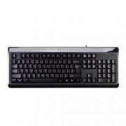 Клавиатура A4tech KB-8A, дренажни отвориа, черна, USB