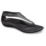 Crocs Serena TeenSlippers Damen Black / Black 41